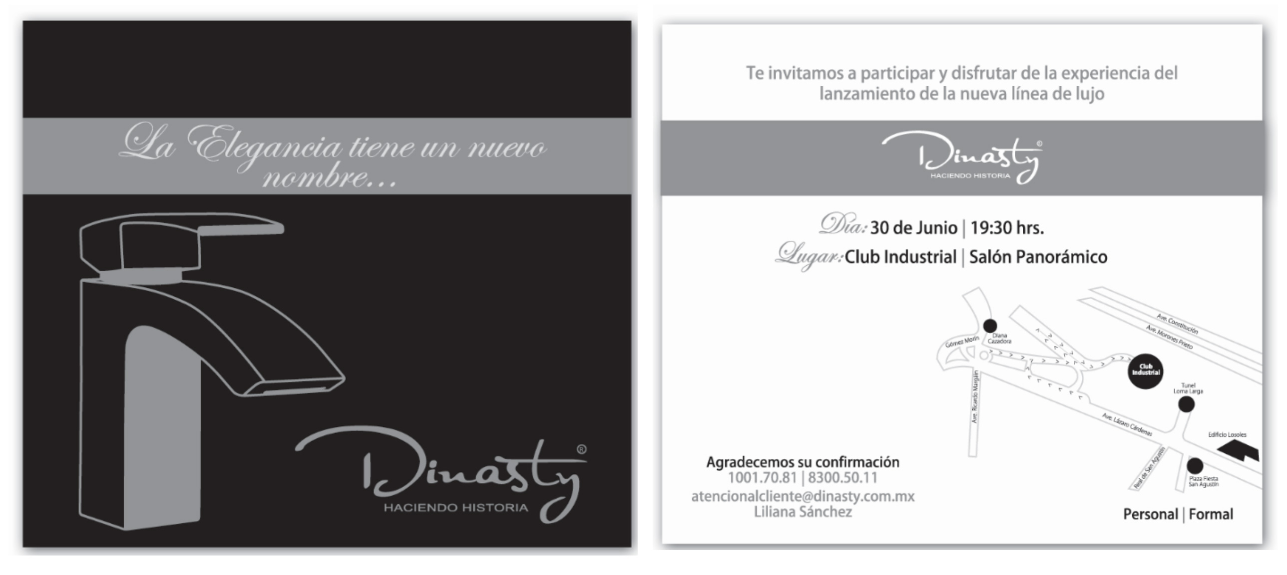 Invitación Dinasty